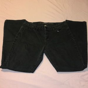 Black Lauren Conrad skinny jeans